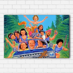 Wet Hot American Summer Canvas Sets