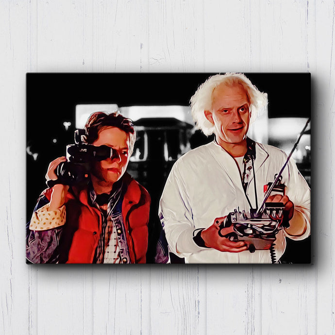 BTTF - When this baby hits 88mph Canvas Sets