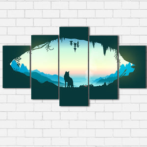 Wolf Den Canvas Sets