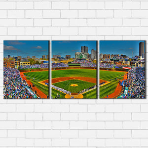 Wrigley Field Canvas Sets
