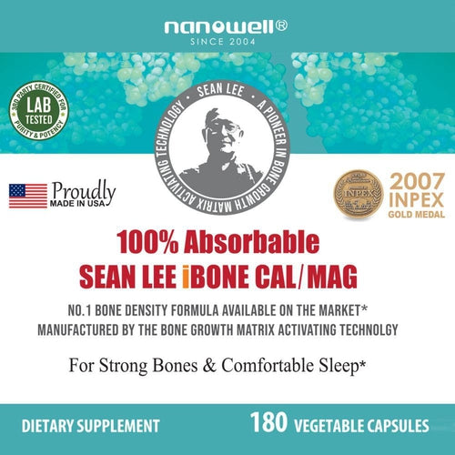 Sean Lee's iBone Cal Mag 180 Vegetarian Caps