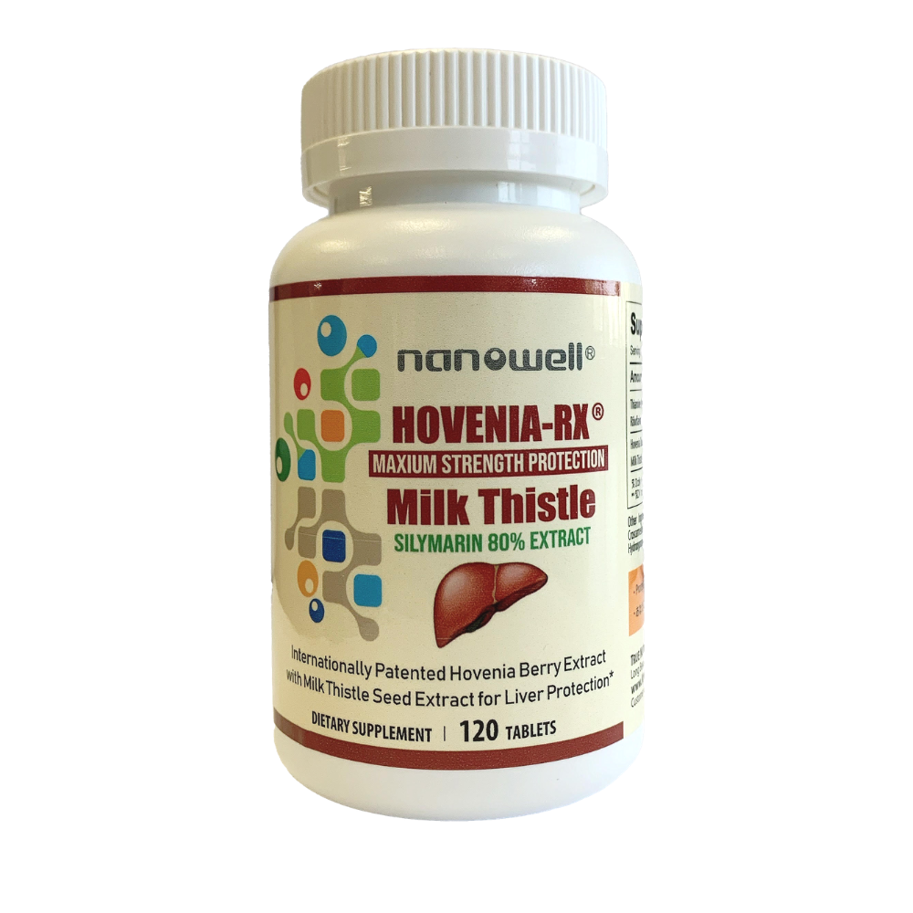 2021 SUL #1 - 4 Bottles of Hovenia-Rx® Milk Thistle Tablet