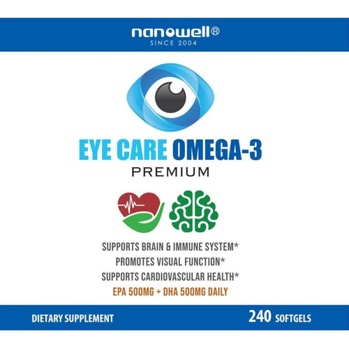 2 Bottles of Eye Care Omega-3 Premium 240ct