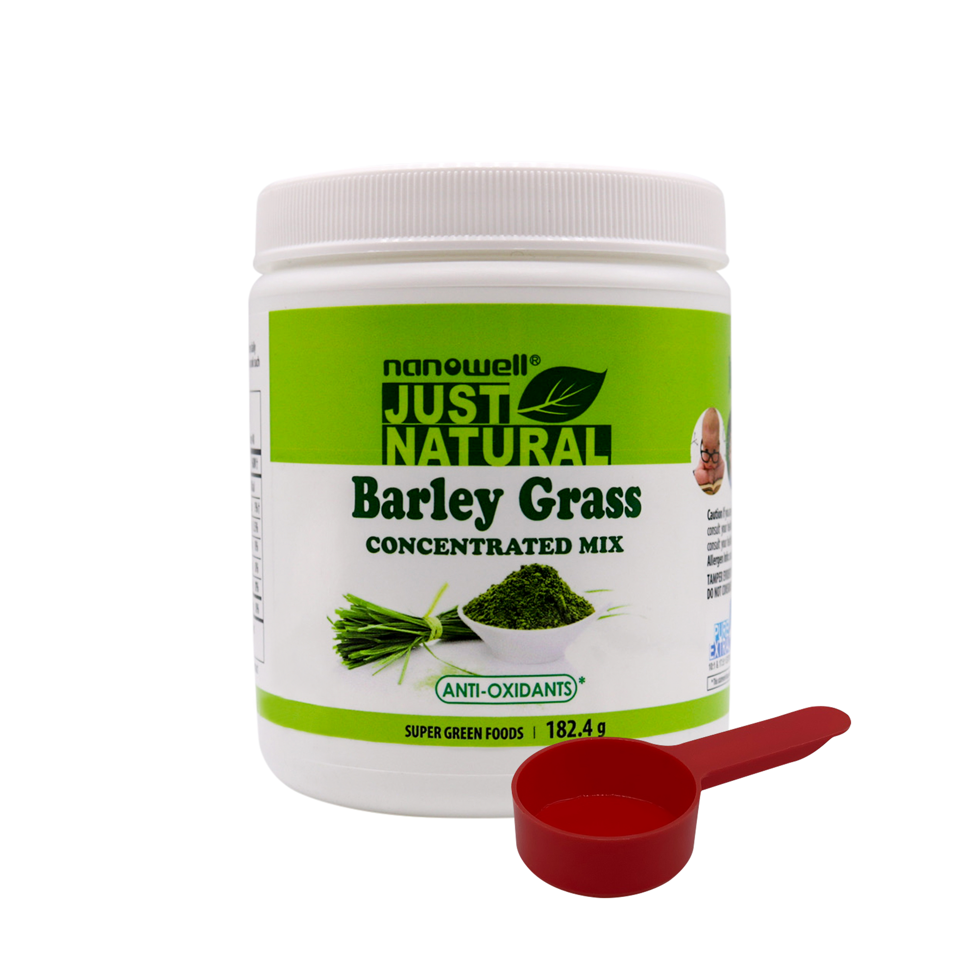 5 Jars of Barley Grass Concentrated Mix Powder