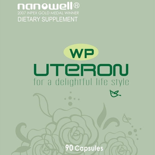 3 Bottles of Uteron Wp 90c