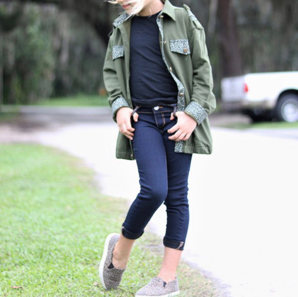 Sassy Little Military Jacket