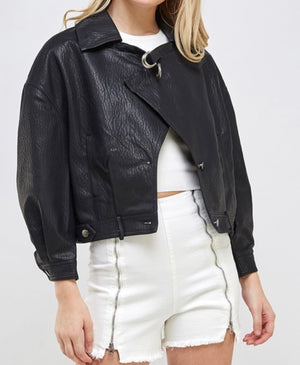 Lincoln Pleather Jacket