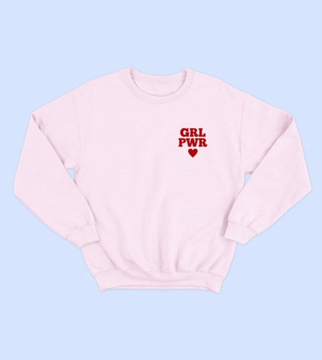 Grl Pwr Girls Sweatshirt