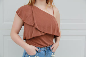 Halle One-Shouldered Top