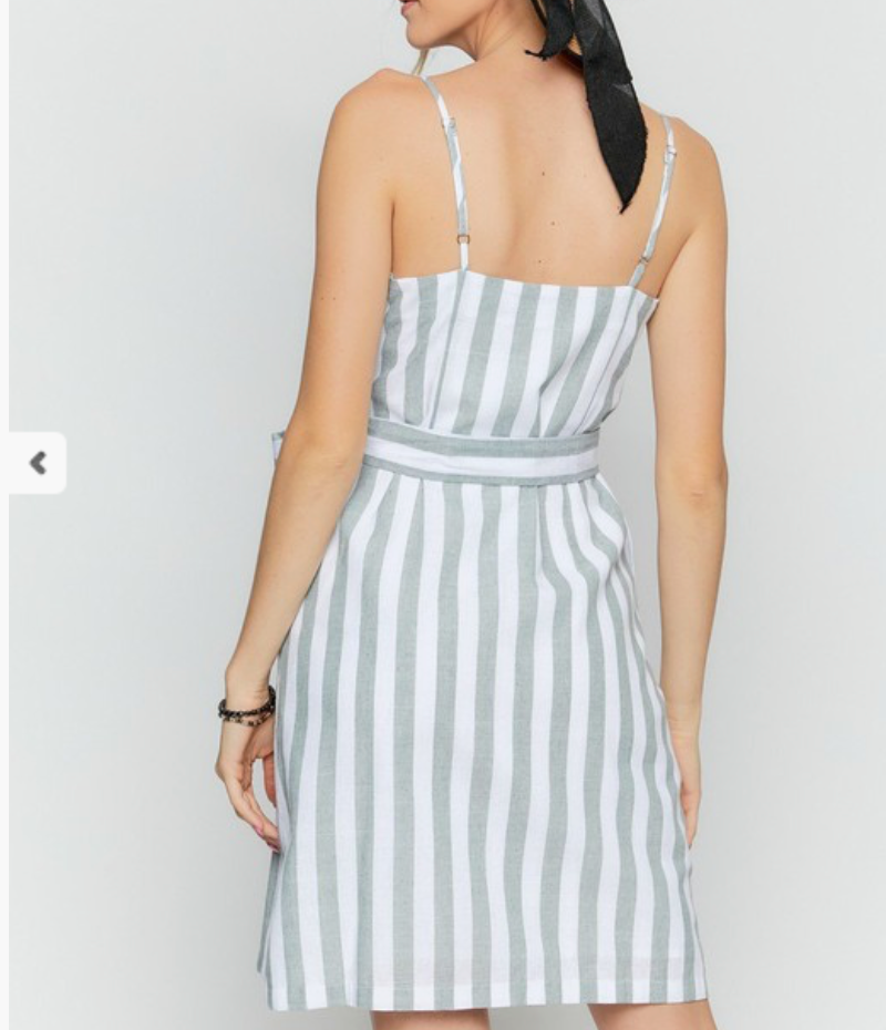 Heather Stripe Dress