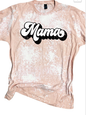 Laura Bleached Mama Tee