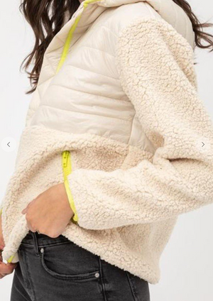 On Fire Sherpa Sweater