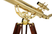 Load image into Gallery viewer, Celestron Ambassador 80mm Brass Telescope