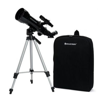 Celestron TravelScope 70mm refractor with travel bag and tripod
