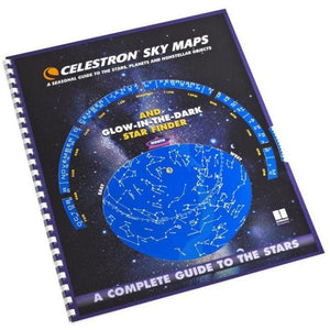 Celestron Sky Maps and Planisphere Book