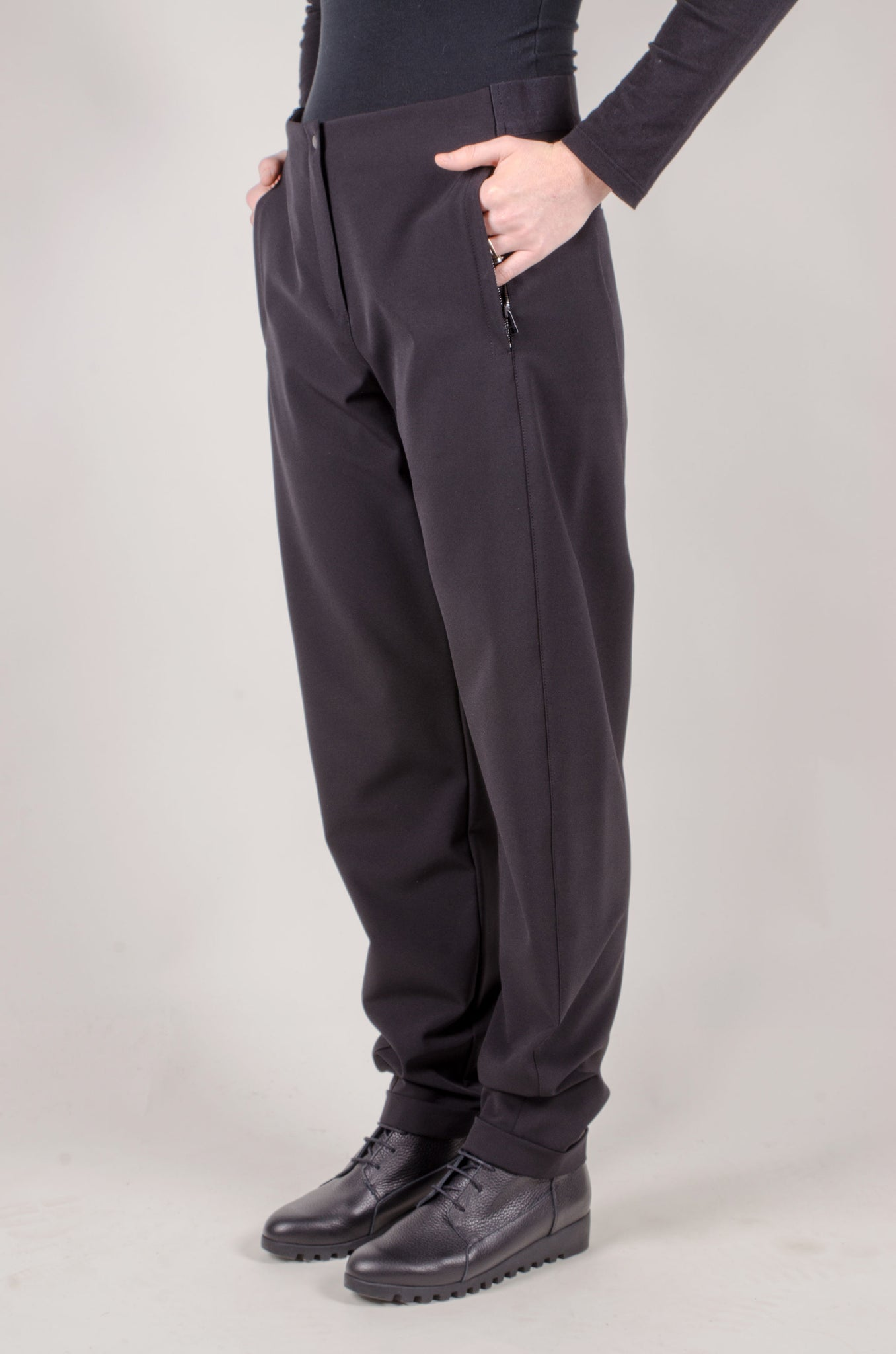 ANNETTE GÖRTZ - Pepe Straight Leg Trousers - Black