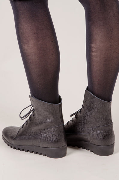ARCHE - Lace Up Boots - Black