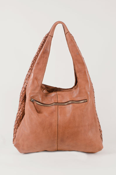 WOVEN - Large Bag - Tan