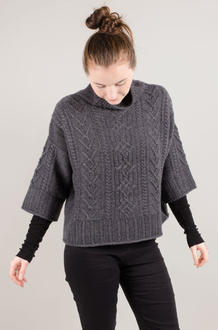 CASHMERE - Cable Short Jumper