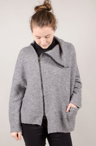 CREA CONCEPT - Zip Jumper - Grey