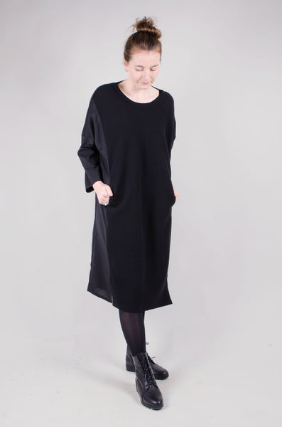 ELEMENTE CLEMENTE - Hefei Black Wool Dress
