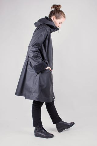 WATERPROOF - Parka Coat - Black