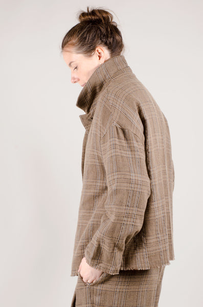 OSKA - Serapia Jacket - Camel Tweed