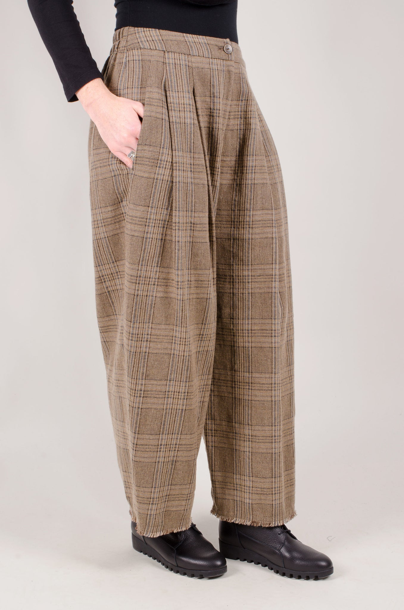 OSKA - Serapia Trouser - Camel Tweed