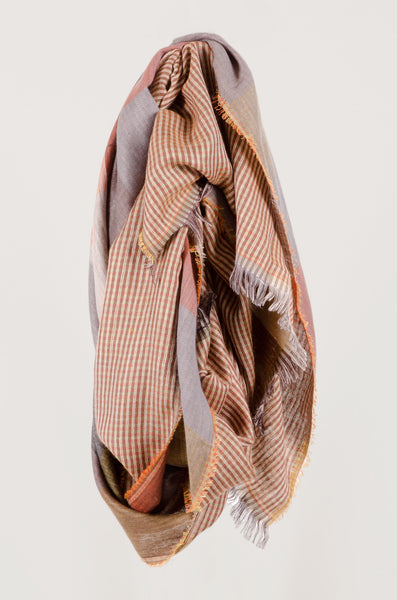 SCARF - Autumnal Check