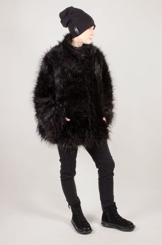 RUNDHOLZ - Short Gorilla Coat - Black