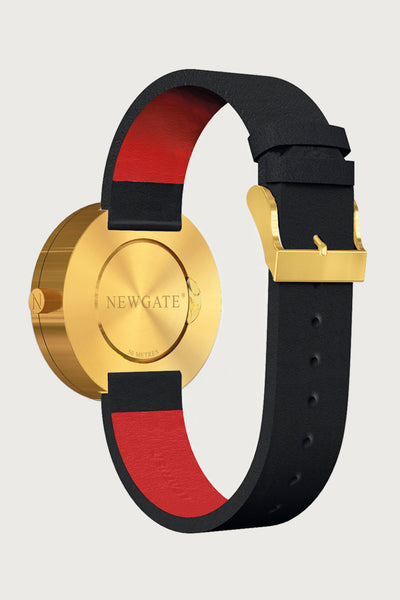 NEWGATE - Drummer Watch - Black/Brass