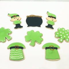 DIY St. Patrick's Day Cookie Decorating Kits