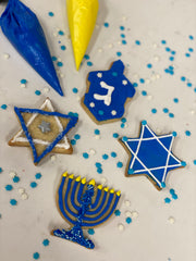 Chanukah DIY Cookie Decorating Kit