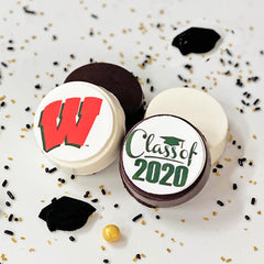 Graduation Chocolate Covered Oreo 12pk