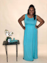 Load image into Gallery viewer, Serene Maxi Dress (Mint)