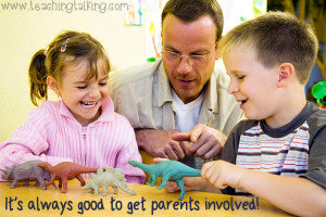 Get parents involved in speech therapy meetings.