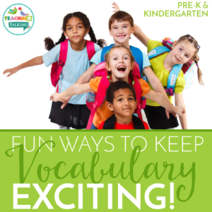Vocabulary Elementary Activities for SLPs