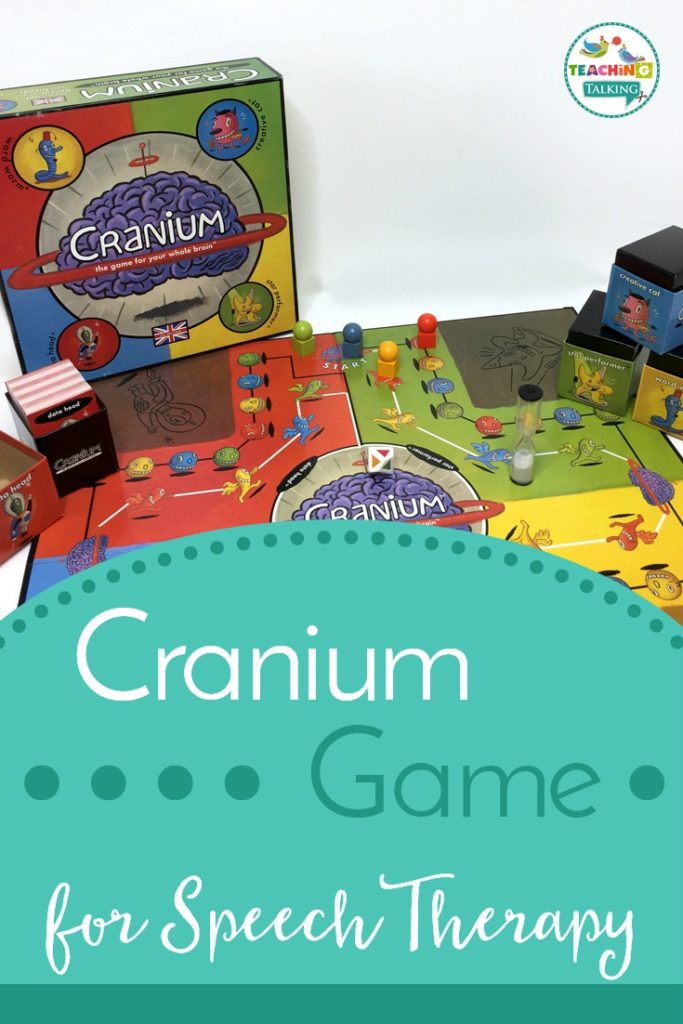 Cranium for Speech Therapy- Cover
