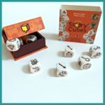best board games for speech therapy - Rory's Story Cubes