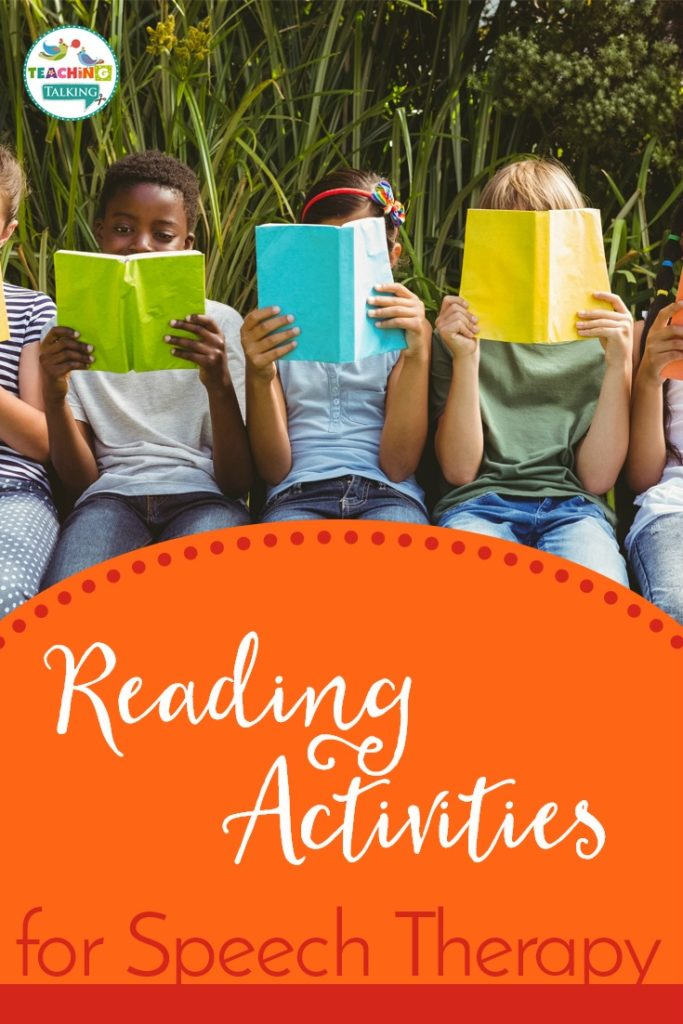 Speech Therapy Reading Activities