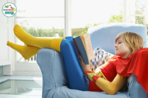 Speech Therapy Reading Activities - dress up