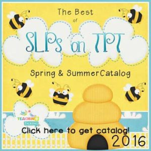 End of Year Speech Therapy - Planning Ahead Catalog