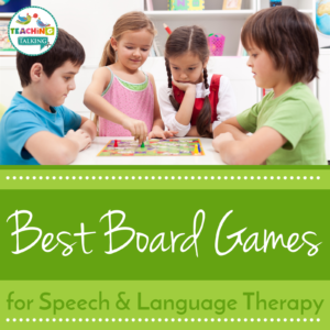 Best board games for Speech Therapy