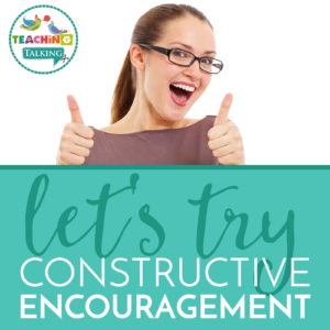 """Enough with """"Speech Shaming"""", let's try """"Constructive Encouragement"""" Instead!"""