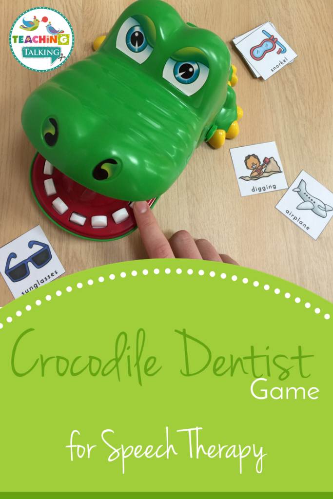 Using Crocodile Dentist for Speech Therapy