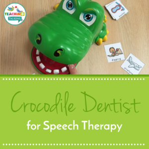 Crocodile Dentist game for Speech Therapy