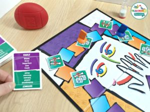 Using the Taboo Game for Speech Therapy