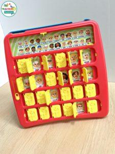 Guess Who Game for Speech Therapy