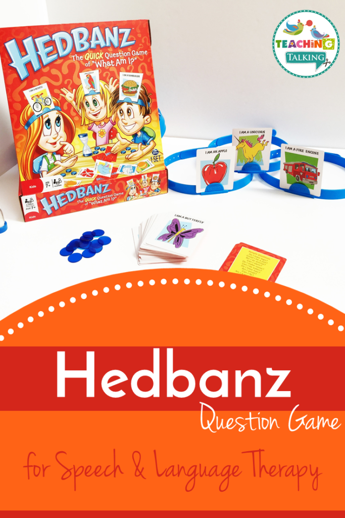 Hedbanz for Speech Therapy