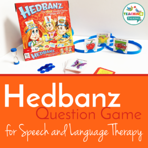 Hedbanz game for Speech Therapy